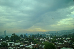 Addis Ababa, post 48-hour thunderstorm