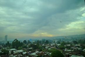 Addis Ababa, post 48-hourthunderstorm