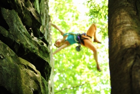 Sampling of climbs at the New River Gorge